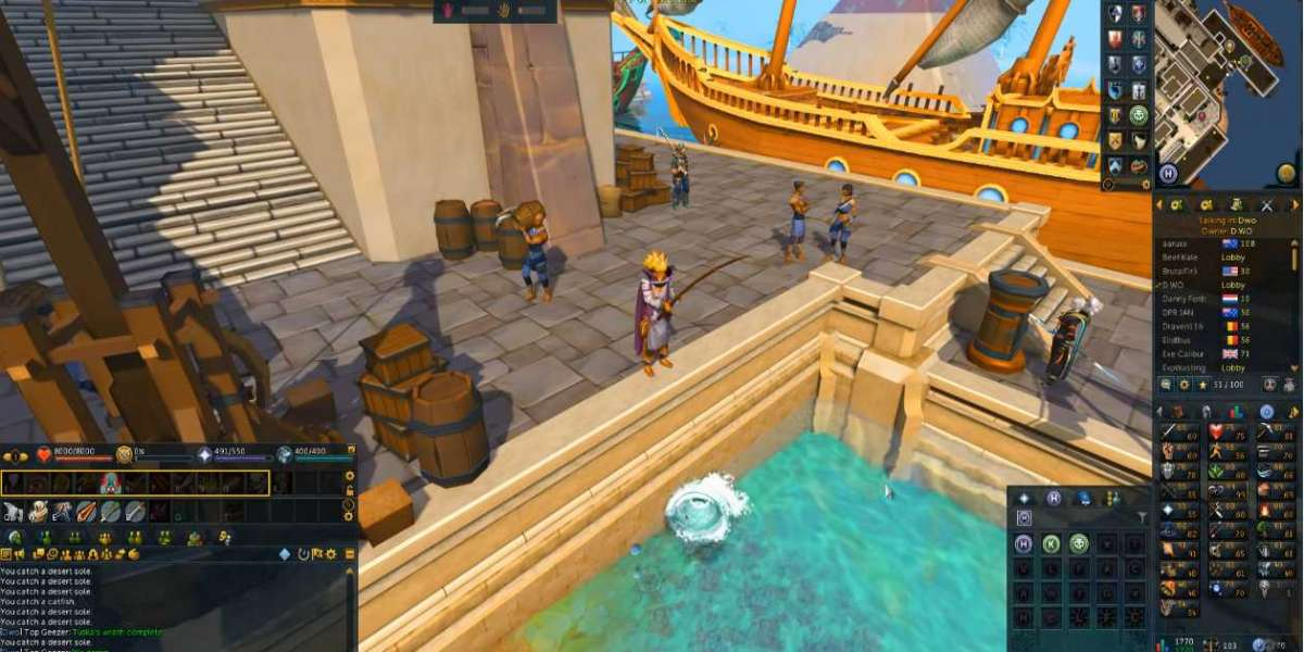 Progress in any other Runescape sport