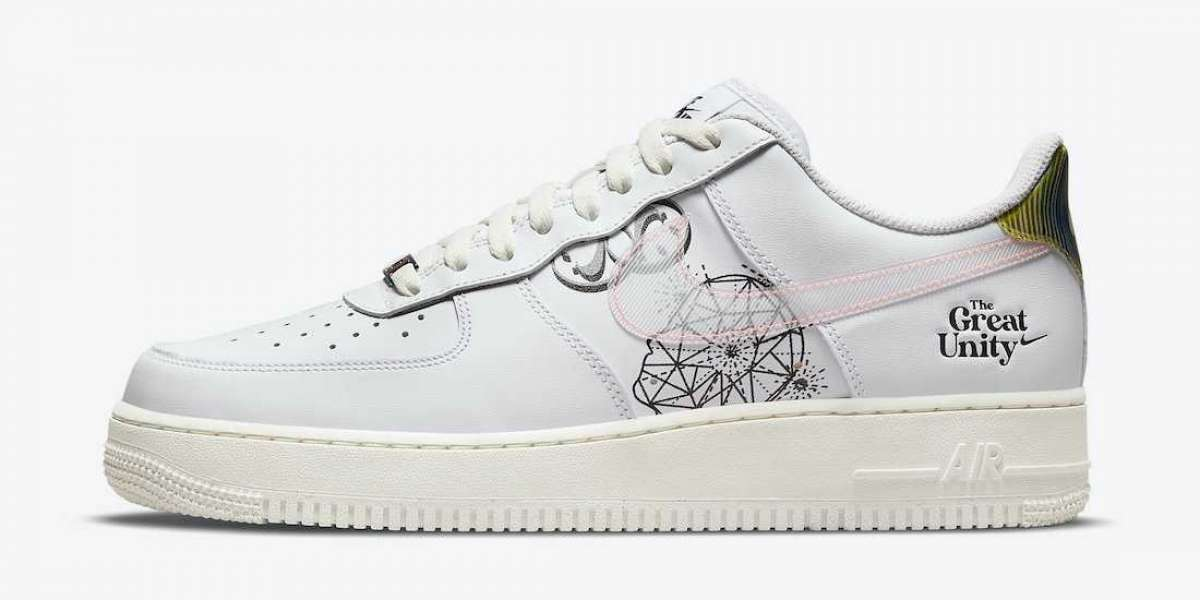"""2021 New Nike Air Force 1 Low """"The Great Unity"""" DM5447-111 Cheap for sale!"""