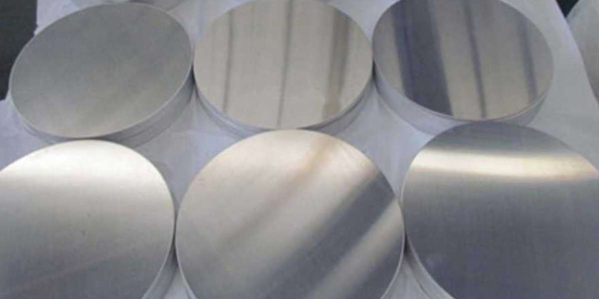 In the processing, what causes surface damage to aluminum disc circles?